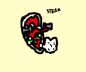A Steak Working out without legs