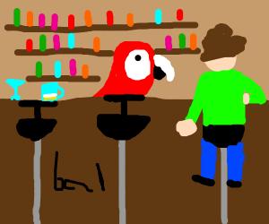 Parrot Bartender