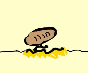 Bread crossing Quicksand