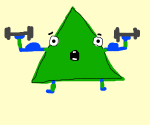 triangle lifting weights