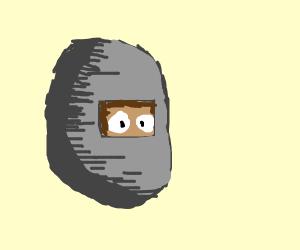 A Metal Walnut