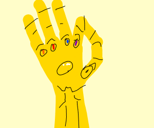 Infinity gauntlet had to do it to em
