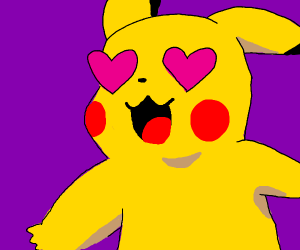Pikachu is in love