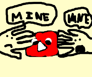 hands fighting over you tube