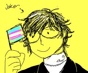 joker from p5 is transgender