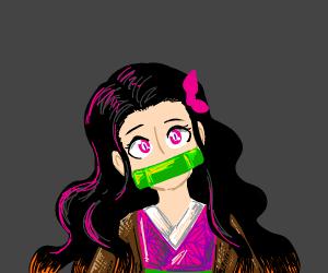 Cute Nezuko (demon slayer)