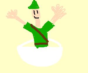 Peter Pan in my Soup