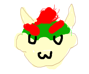 Bowser being an uwu