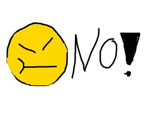 emoji kun says no
