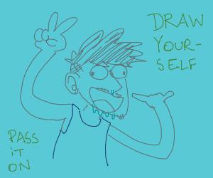 Draw yourself! P.I.O.