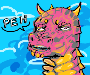 The mighty dragon has a message! She say: PEH