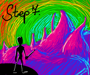 step seven: teleport to a fantasy land