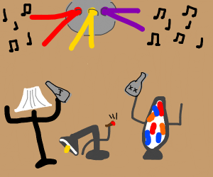 Lamp rave