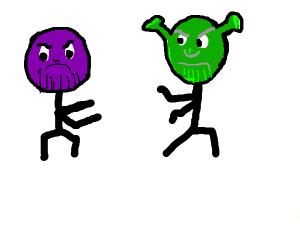 Thanos vs shreknos