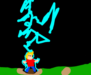 Draw With Jazza being electricuted