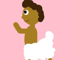 half sheep half man