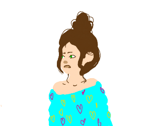 woman without outlines