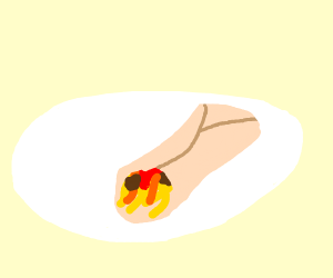 Burrito Spaghetti