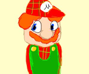 Scottish redhead Mario