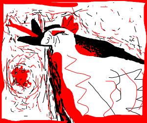 Darkness chicken (mha)