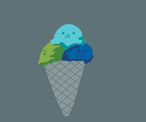 Emotional ice cream