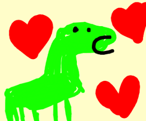 aroused dinosaur