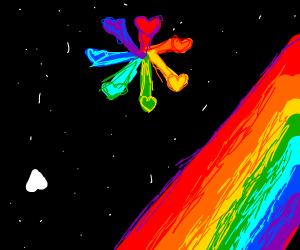 undertale seven souls have merged into rainbo