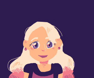 Pretty blonde lady