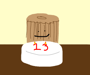 it's churro boy's 13th Birthday!