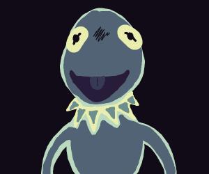 Kermit Laughs maniacally