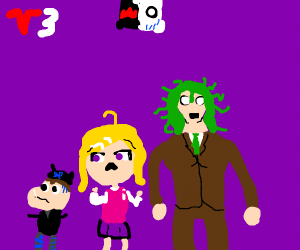 Danganronpa v3 characters look shocked