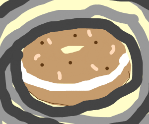 Bagel in a Cyclone