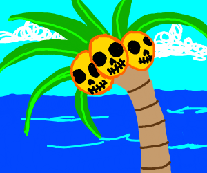 The Coconuts are skulls