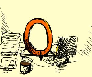 Drawception D's cuz, Office O.