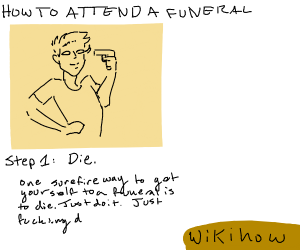 Wikihow to attend a funeral
