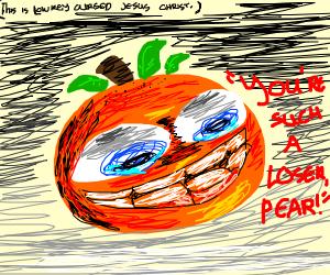 Annoying orange being annoying