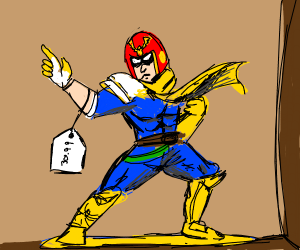 Captain falcon action figure