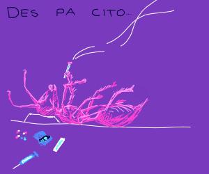 roblox despacito spider - Drawception