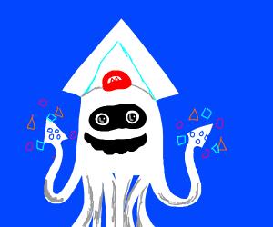 Mario the Magic kraken