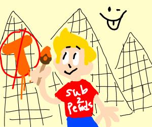 Jazza at the pyramids