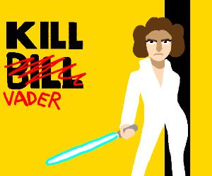 """Leia in Quentin Tarantinos """"Kill Vader"""""""
