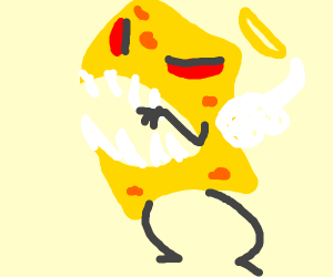 Butchered angel spongebob