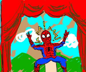 does whatever a spider sock puppet does