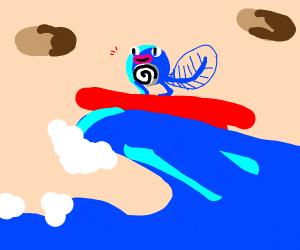 Water Pokémon Surfing