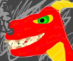 A dragon needs a dentist :(