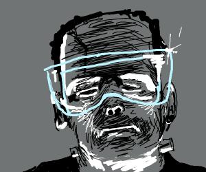 Frankenstein w/ goggles