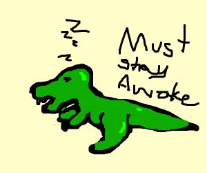 Sleepy T-Rex