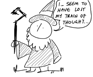 gandalf can't finish his sentence