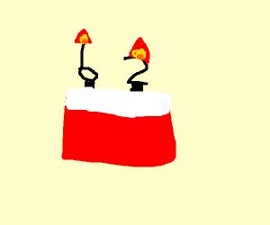 Elderly Cake