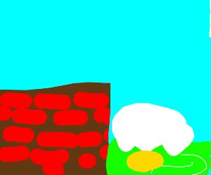 eggman has fall off wall